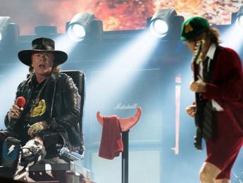 El concierto completo de AC/DC con Axl Rose