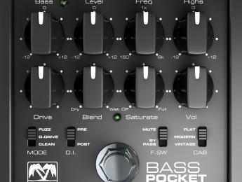 Palmer presenta el Bass Pocket Amp