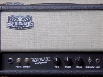 Aeronaut Amp, un amplificador de Sanford Magnetics