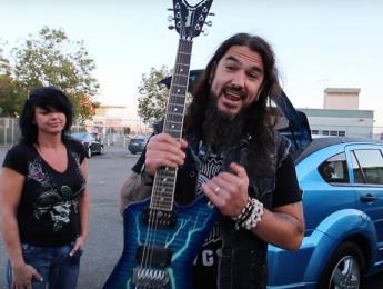 Rob Flynn de Machine Head reencuentra sus guitarras robadas
