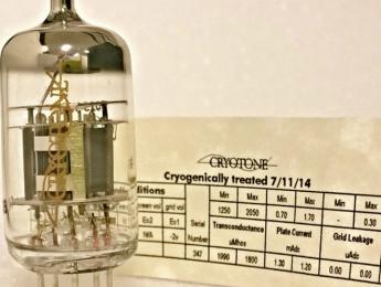 Wathen Audiophile presenta Cryotone, válvulas criogénicamente congeladas