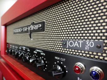 Todd Sharp presenta un nuevo modelo de amplificador, el JOAT 30RT