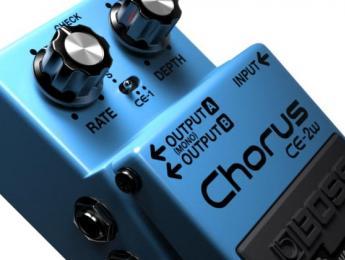 BOSS presenta el WAZA CRAFT CE-2W Chorus
