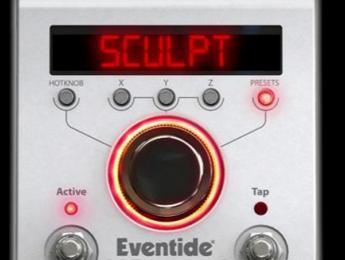 Eventide presenta Sculpt, un nuevo algoritmo de distorsión
