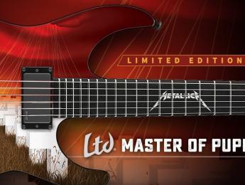 ESP presenta la LTD Master Of Puppets y la Eclipse Violet Shadow USA