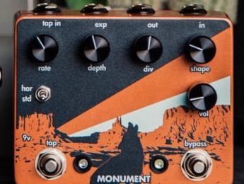 Walrus Audio prepara Monument, un nuevo pedal de trémolo