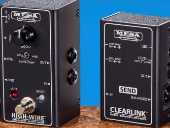 Mesa Boogie presenta una nueva serie de productos de mantenimiento de la señal