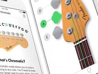 Fender desvela Tuner App, un afinador gratuito para dispositivos iOS