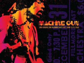 Hendrix con Band of Gypsys, nuevo disco en vivo de su primera actuación