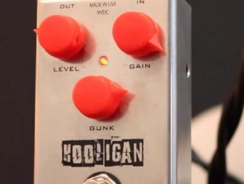 Un nuevo fuzz de J.Rockett Audio Designs, el Hooligan