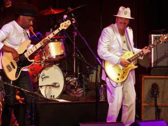 Primeras imágenes del supergrupo de Santana, Hancock, Miller, Blackman y Shorter