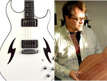 Tim Reede presenta la nueva guitarra Mercury