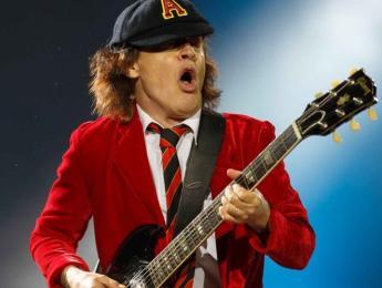 El equipo en gira de AC/DC