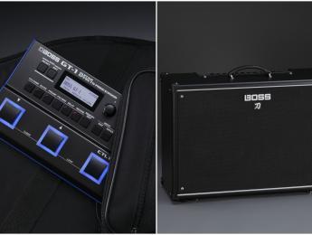 GT-1 y Katana, nueva pedalera y amplificadores de BOSS