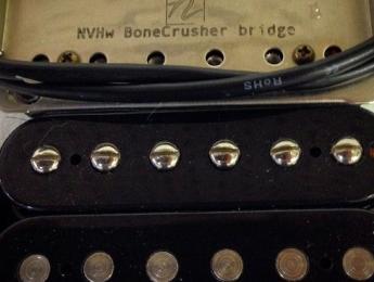 Bonecrusher, una nueva pastilla humbucker de Nordstrand