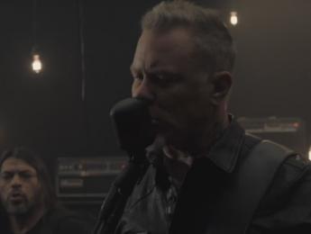 """Moth Into Flame"": Metallica presenta el segundo single de su próximo disco"