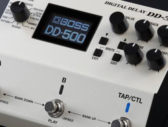 Probamos el delay Boss DD-500