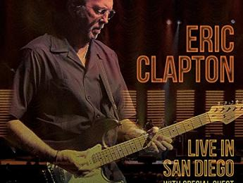 "Ya disponible ""Live In San Diego"" de Eric Clapton"