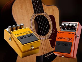 Guitarra acústica con distorsión: ¿es una buena idea?