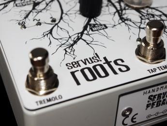 Overdrive, Trémolo y Reverb juntos en un pedal de Servus! Pedale