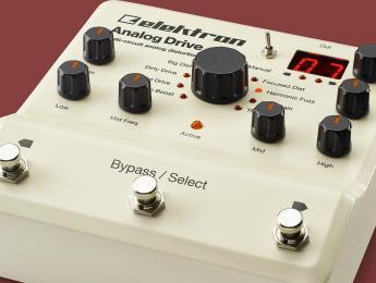 Analog Drive de Elektron, distorsión analógica con ventajas digitales