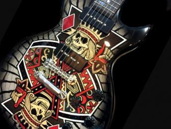 Zemaitis colabora con Ronzworld guitars para sus nuevos diseños