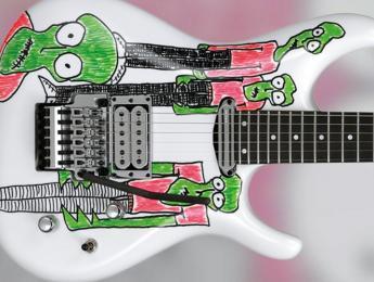 JSART2, 50 guitarras decoradas por Joe Satriani