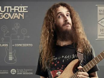 Masterclass y concierto de Guthrie Govan este sábado en Granollers (Barcelona)