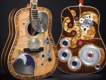 Martin presenta su guitarra número dos millones