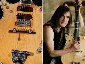 "Gretsch Malcolm Young ""Salute"" Jet, modelo signature de AC/DC"