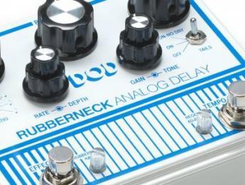 DOD presenta el delay Rubberneck y otras novedades