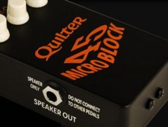 Quilter Micro Block, una potencia de 45W en el tamaño de un pedal