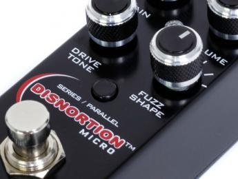 Disnortion Micro, el nuevo pedal de saturación de Pigtronix