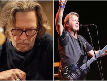 Eric Clapton dedica un tema al fallecido John Wetton, de Asia