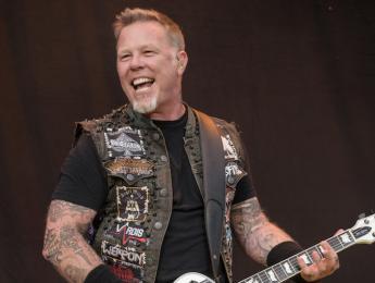James Hetfield de Metallica, sin cantar por orden médica