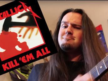 """¿Cómo sonaría """"Kill'em All"""" de Metallica en tonalidad mayor?"""