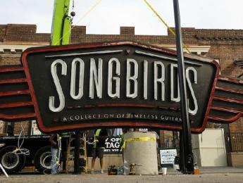 Songbirds Guitar Museum, una exposición con 1.700 guitarras