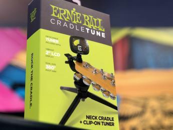 Ernie Ball Cradletune, un afinador para tareas de mantenimiento