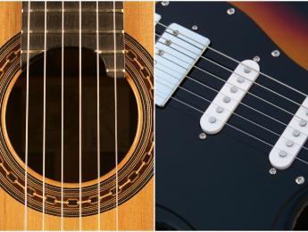 Guitarra eléctrica, acústica o española ¿cuál compro para aprender?
