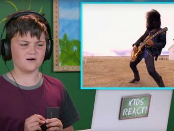 La reacción de los niños al oír Guns N' Roses por primera vez
