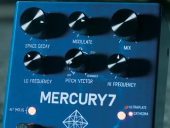 Mercury 7 y Ottobit Jr, el debut de Meris en pedales para guitarristas