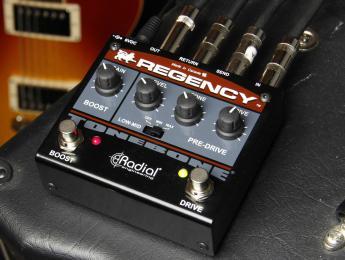 Radial Engineering amplía su gama de pedales de distorsión Tonebone