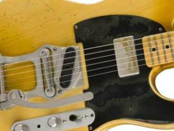 "Bob Bain ""Son Of The Gun"", nueva Telecaster de la Fender Custom Shop"