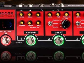 Red Truck, Mod Factory Pro, Tender Octaver Pro y Baby Bomb, los nuevos pedales de Mooer