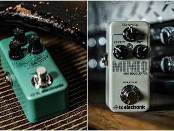 """Hypergravity y Mimiq Mini, versión reducida del compresor y el """"doubler"""" de TC Electronic"""