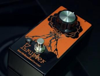 Earthquaker Devices Erupter, un fuzz con un único control de bias