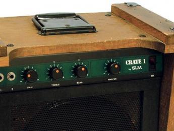 El sorprendente aspecto del CR1, el primer amplificador de Crate