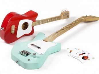 Loog Pro y Mini, guitarras con 3 cuerdas pensadas para aprender