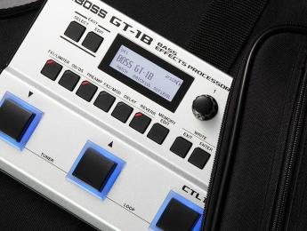 Boss GT-1B, un nuevo multiefecto compacto para bajistas