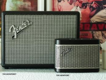 Newport y Monterey, nuevos altavoces bluetooth de Fender
